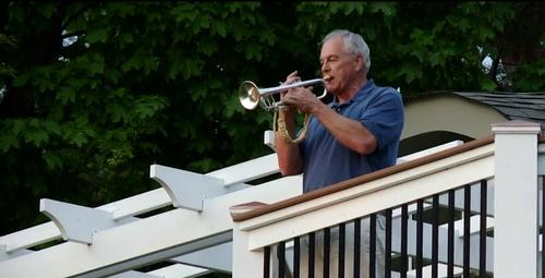 Man Learned To Play The Trumpet At Age 66 So He Could Play