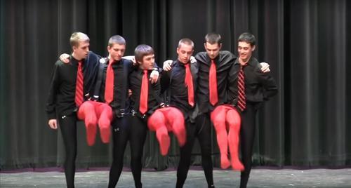 Teens in tights