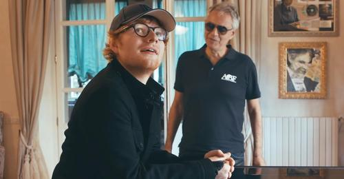 Ed Sheeran Teams Up With Andrea Bocelli To Deliver A Perfect Performance Of Perfect Symphony