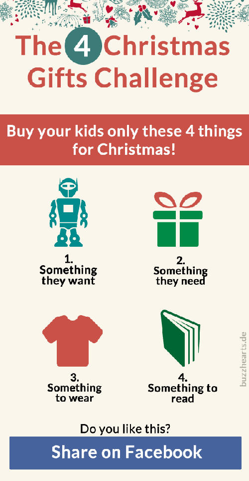 Things For Christmas.Buy Your Kids Only These 4 Things For Christmas