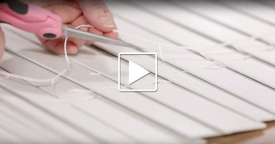 She Hated Her Blinds, So She Grabbed The Scissors And Began CUTTING! The Result? STUNNING!