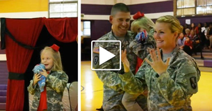 Military Mom And Dad