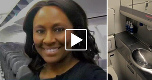 Heroic Airline Attendant Saves Young Girl From Human Trafficking On Flight