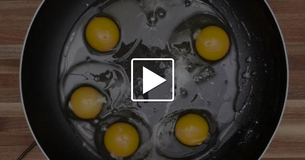 Fry Eggs With This No Flip Cooking Hack