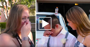 Teen With Down Syndrome Is Rejected Before The Homecoming Dance - But When Stranger Pulls Up, Everything Changes And Mom Loses It