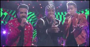 Luis Fonsi And Daddy Yankee Perform Despacito With The Voice Contestant Mark Isaiah