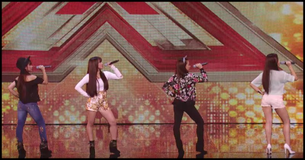 Watch As 4th Power Blow The Roof Off During Their X Factor Audition!