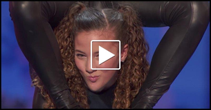 Amazingly Talented Latina Teen Singing 63