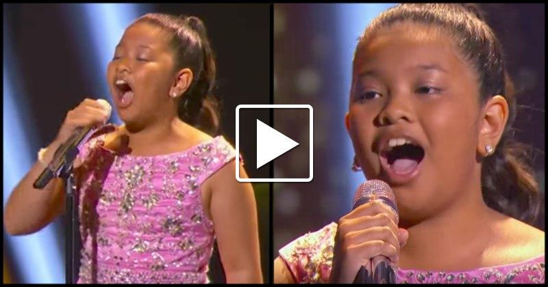 12 year old sings sia s chandelier watch and be amazed