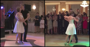 The Bride Is Ready To Dance Her First Dance With Her Husband, But What The Groom Did Next Took Everyone By Surprise