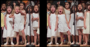 Watch As This Dramatic Little Girl Outperforms All Of Her Classmates At Her Graduation Performance