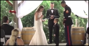 This Bride's Vows To Her Future Stepson Had Him Bawling...We Defy You To Keep A Dry Eye!