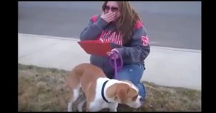 Family Rejects Dog On Adoption Day, Then Heartbroken Foster Mom Realizes She's Been Pranked
