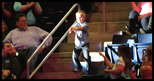 Boy Rocks Out At Concert And Steals The Show!