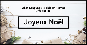 How Many Languages Can You Say Merry Christmas In?