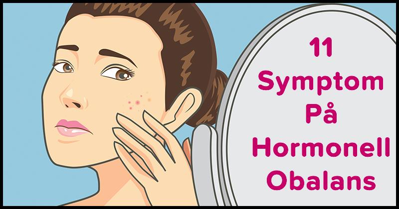 hormonell obalans symtom