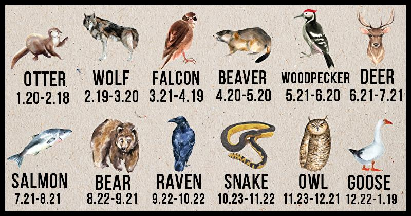 Discover Your Native American Zodiac Symbol And Its Meaning