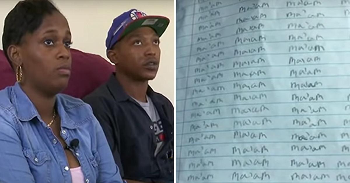 10-Year-Old Punished By Teacher For Calling Her Ma'am