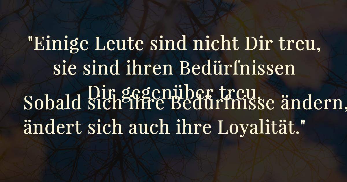 Loyalität freundschaft