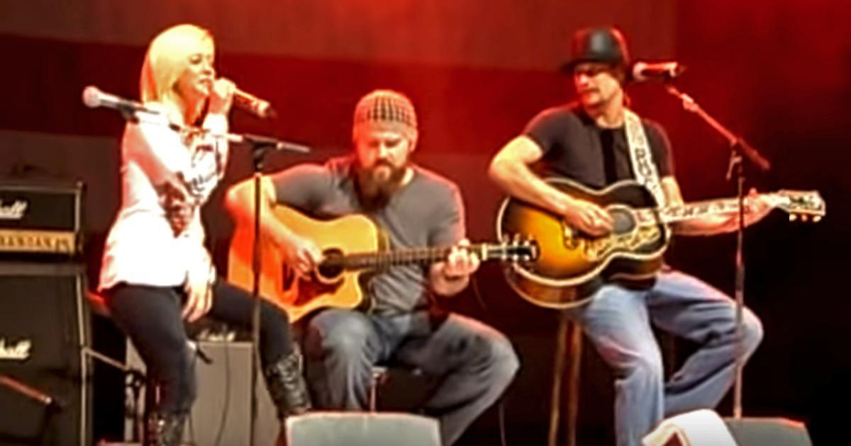 kellie pickler joins kid rock for brilliant duet on picture