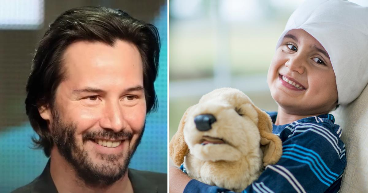 Image result for Hollywood Superstar Keanu Reeves Has Secretly Been Financing Countless Children's Hospitals