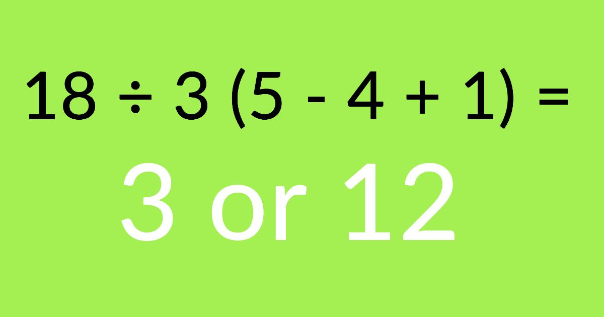 This Tricky Math Quiz Is Driving The Internet Crazy!