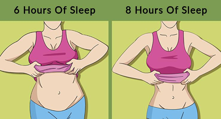 Studies Show Changes In Your Body When You Sleep Less Than Eight Hours A Day