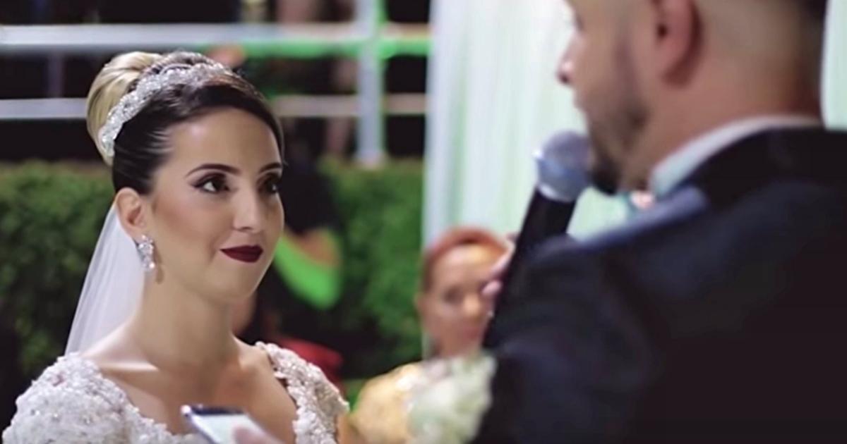 Bräutigam unterbricht Ehegelübde, um seine Liebe zu einem