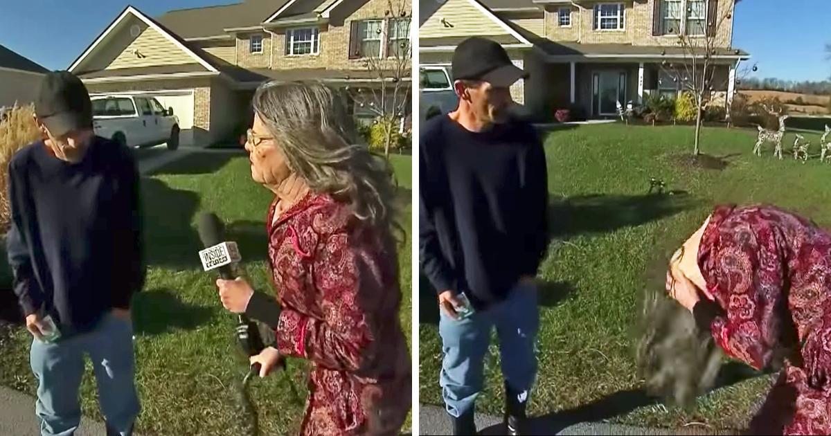 Un Plomero Intenta Estafar A Una Anciana Hasta Que Ella Se