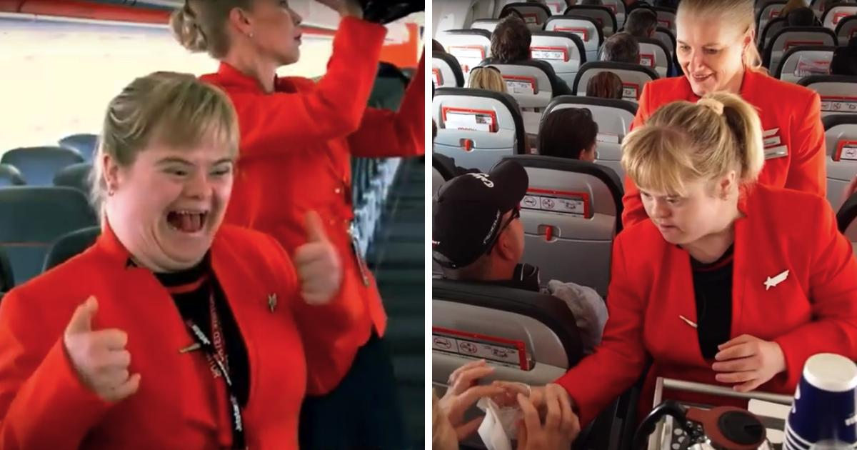 Woman With Down Syndrome Gets Dream Job As Flight Attendant For A Day