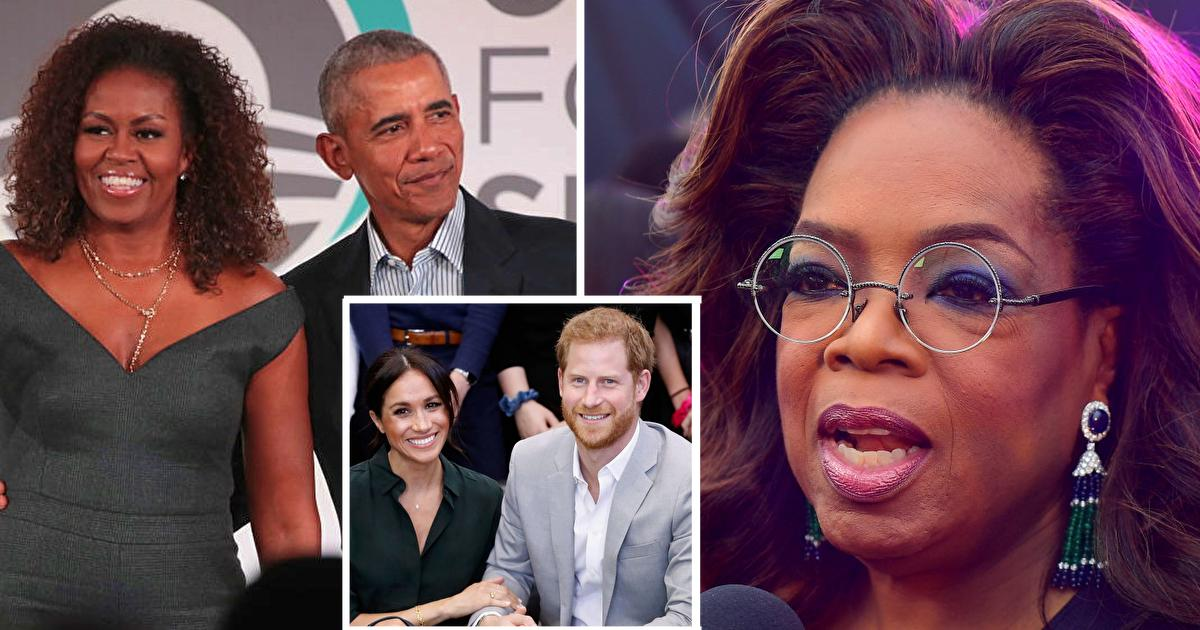 Oprah Winfrey And The Obama's Speak Out Against Reports They Advised Harry And Meghan About Stepping Back From Royal Family