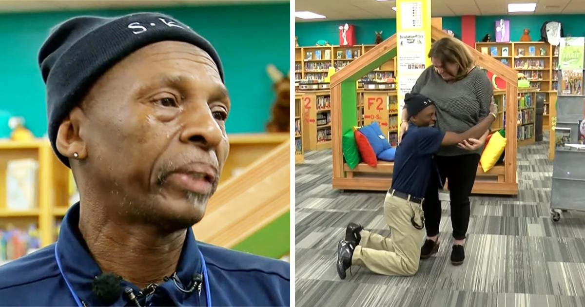 Coworkers Raise $7,000 To Buy Car For Janitor Who Travels Miles To Work Everyday