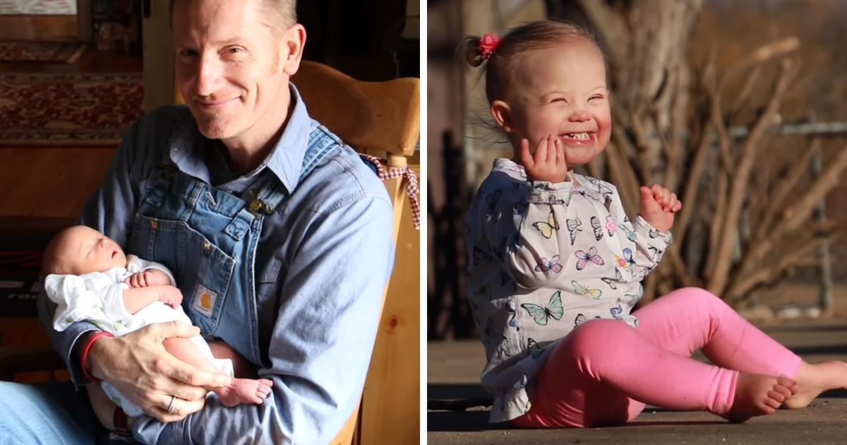 God Doesn't Make Mistakes: Father Writes Stirring Post About Daughter With Down Syndrome