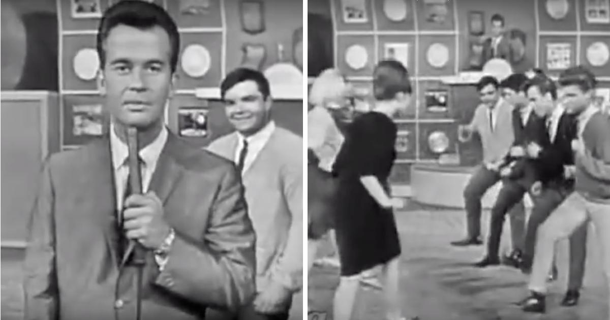 Dick Clark Brought Eight Kids On Stage To Perform Pretty -8437