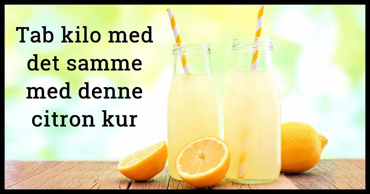 citronsaft kuren farlig