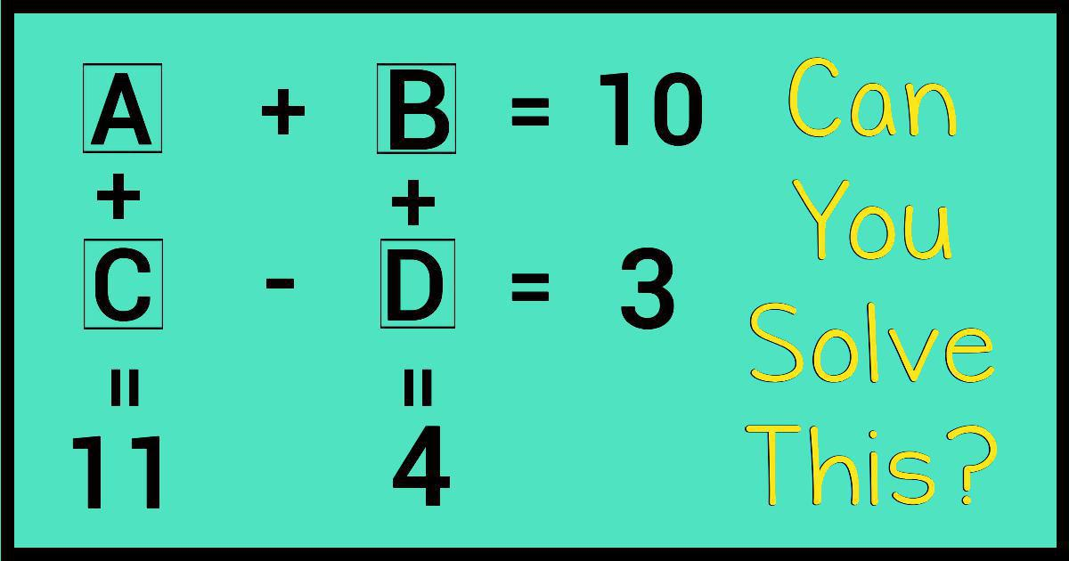 Can You Solve This Confusing Math Puzzle? Only 2% Can!