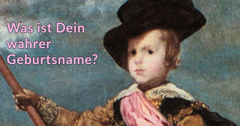 Was Ist Geburtsname