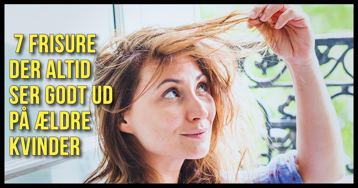 frisurer til modne kvinder