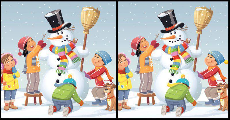 Only 1 Out Of 10 People Can Spot All The Differences In This Beautiful Christmas Scene #6