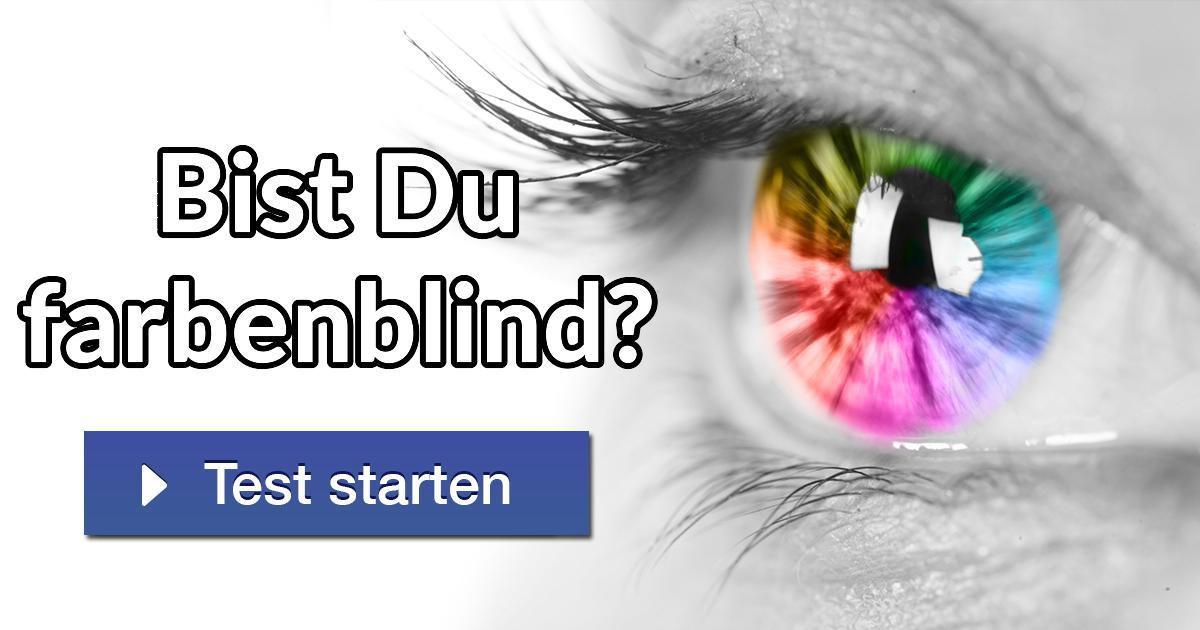 Bist du farbenblind teste dich