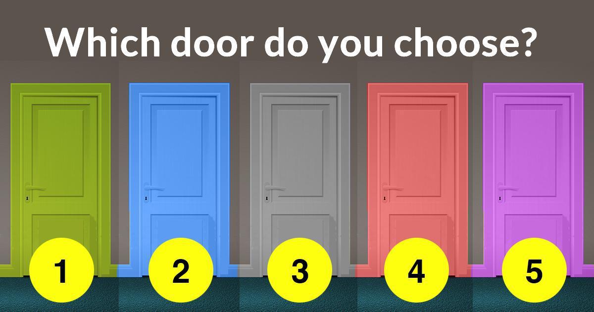 Amazing Which Door Do You Choose?