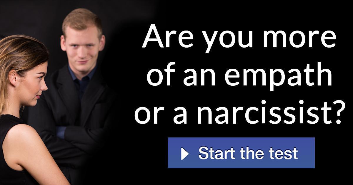 narcissist test dansk
