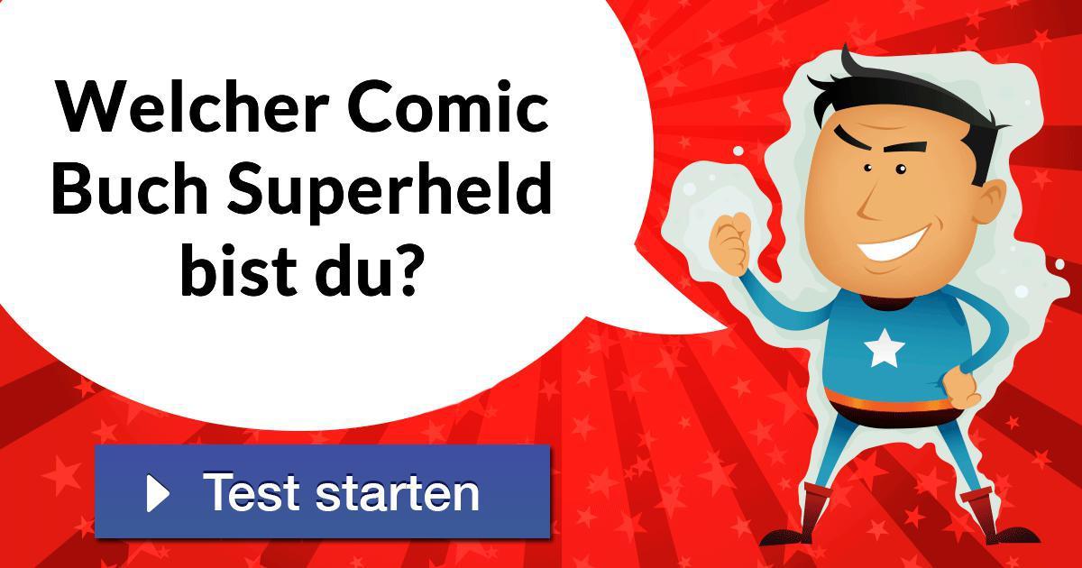 Welcher Superheld Bist Du