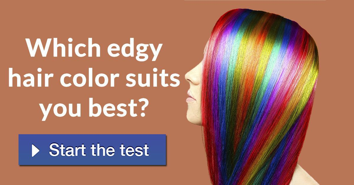 Which Edgy Hair Color Suits You Best