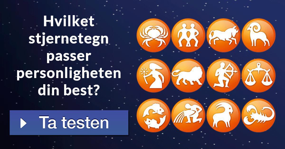 Hvilket stjernetegn passer personligheten din best?