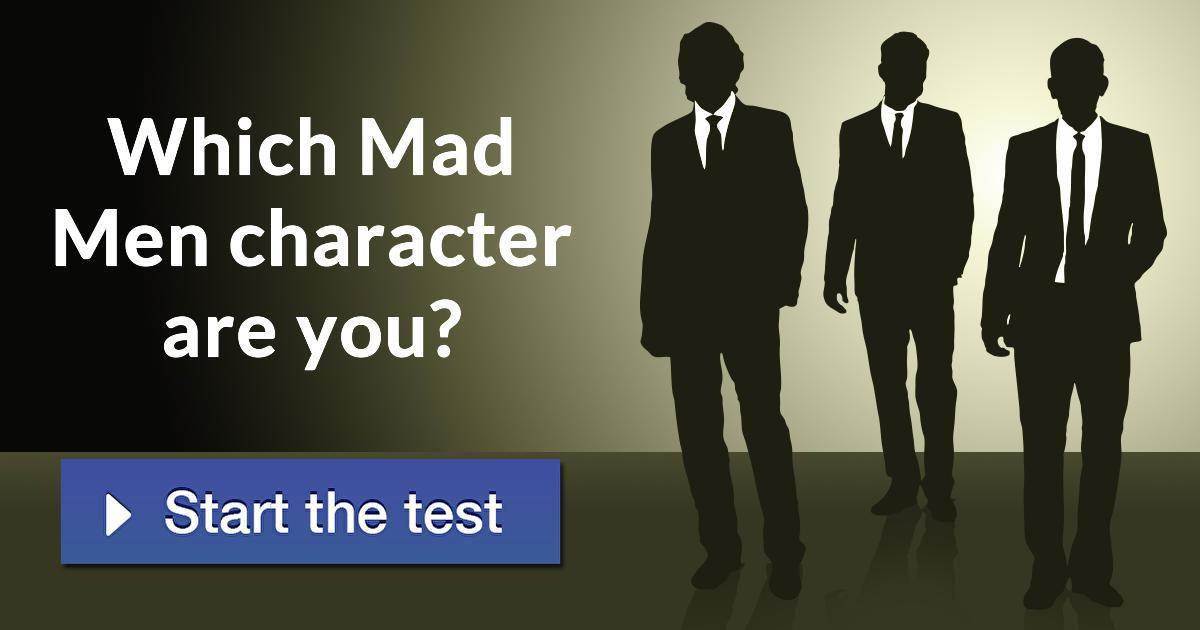 Which Mad Men Character Are You