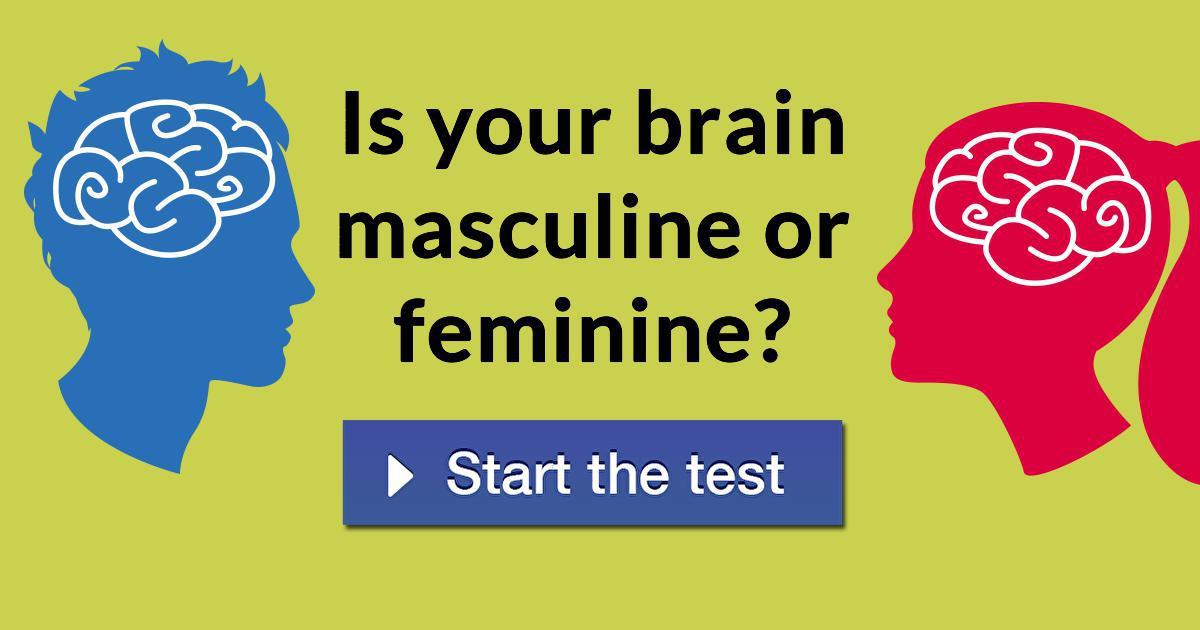 Is your brain masculine or feminine?