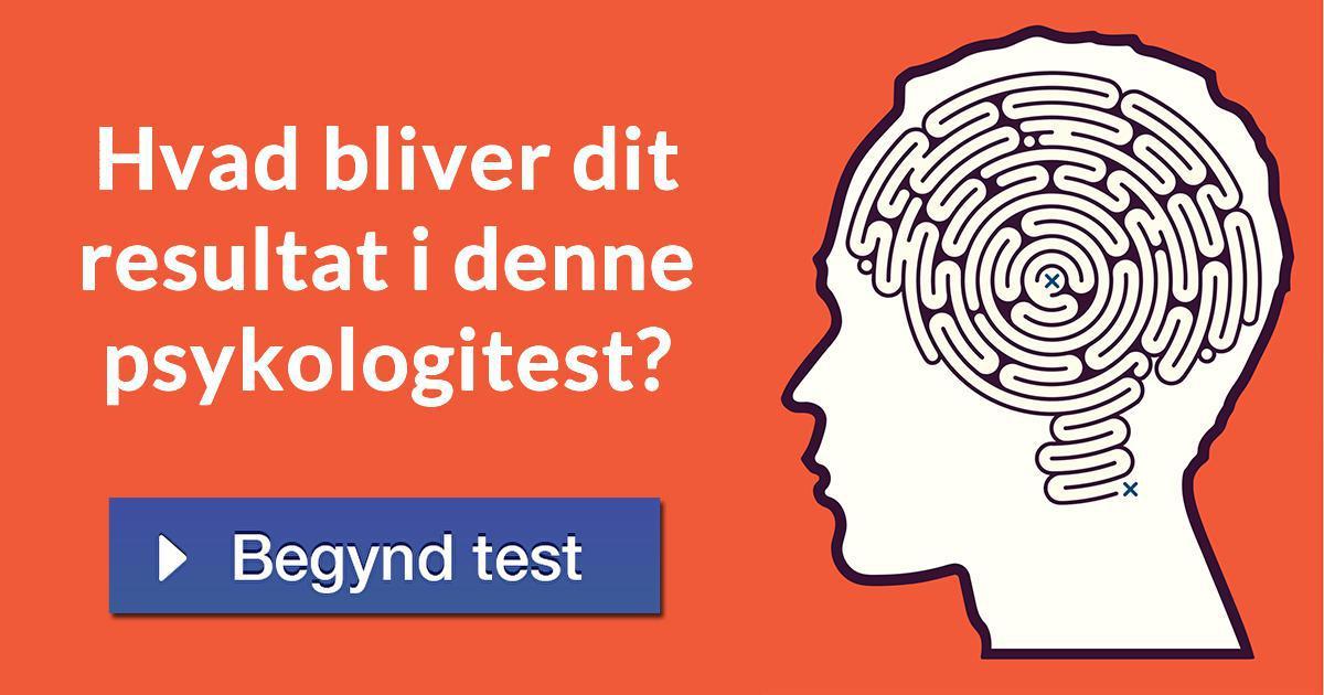 Psykologi test